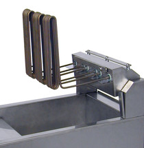 AF812 Austheat Freestanding 29Ltr Single Pan Double Basket Electric Fryer