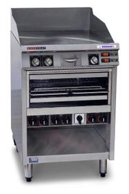 AHT860 Austheat Freestanding Hotplate/ Grill 590mm W x 855 D x 1080 H