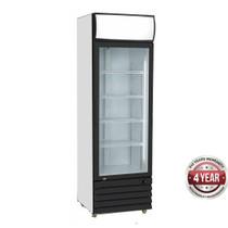 LG-540BG Single Glass Door Black Colourbond Upright Drink Fridge 540 Litre