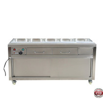 PG180FE-B Heated Bain Marie Food Display without Glass Top 1800mm W