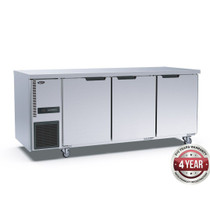 TL1800BT-3D Stainless Steel Triple Door Workbench Freezer 1800mm Width