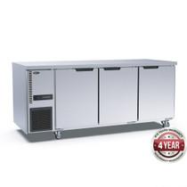 TL1800TN-3D Stainless Steel Triple Door Workbench Fridge 1800mm Width