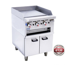 GGS-24LPG Gas Griddle and Gas Toaster with Cabinet