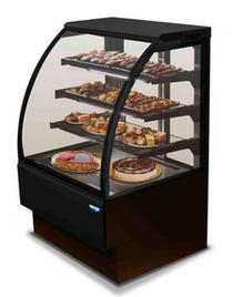 EVOL120V Mastercool Curved Glass Cake Showcase 1200mm - All Black