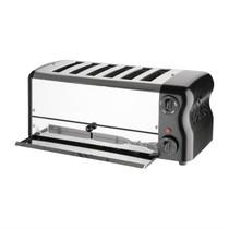 DR073-A Rowlett Esprit 6 Slot Toaster Jet Black