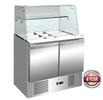 S900GC Compact Food Service Bar Two Door 257 Ltr 900 mm Width