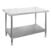 WB7-2400/A Stainless Steel Workbench 2400mm Width