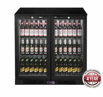 LG-208HC 208Ltr Under Bench two door Bar Cooler 900mm Width