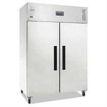 DL898-A Polar G-Series 2 Door Upright Fridge 1200Ltr White 1340mm Width