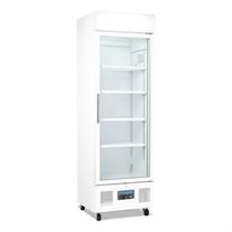 DM076-A Polar G-Series Upright Display Fridge 350Ltr White