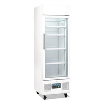 DM075-A Polar G-Series Upright Display Fridge 218Ltr White
