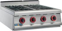 JZH-TRP-4LPG (R) GASMAX LPG Gas Four Burner Top With Flame Failure