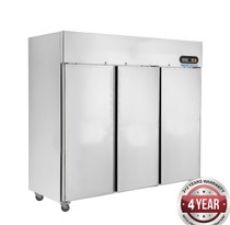 SUC1500 TROPICAL Thermaster 3 Door SS Fridge 1500Ltr 1835mm W x 760 D x 1980 H