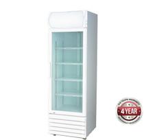 LG-370GE Single Glass Door Colourbond Upright Drink Fridge 370Lt 610mm W