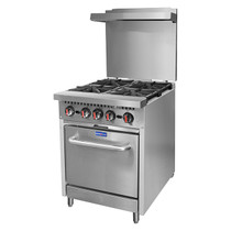 S24(T) - Gasmax 4 Burner with Oven Flame Failure