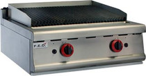 JZH-TRHLPG - LPG Gas Char Grill Top 2 Burners 700mm W