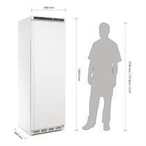CD612-A Polar Single Door Fridge 400Ltr White