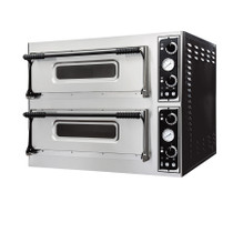 TP-2 Prisma Food Pizza Ovens Double Deck 8 x 40 cm