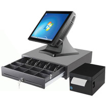 """Commercial POS System Touchscreen Retail Express 15"""" J2 680"""