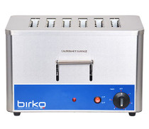 1003203 Birko Vertical Slot Toaster 6 Slice