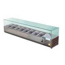 GD877-A  Polar G-Series Countertop Prep Fridge 1800mm 8 x 1/3GN
