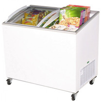 Bromic - Chest Freezer 264L Angled Top/Curved Glass - CF0300ATCG