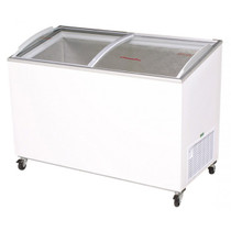 Bromic - Chest Freezer 352L Angled Top/Curved Glass - CF0400ATCG