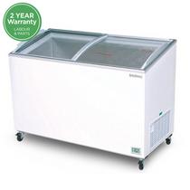 CF0500ATCG Bromic Chest Freezer 427L Angled Top/Curved Glass