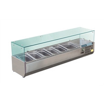 GD876-A Polar G-Series Countertop Prep Fridge 5 x 1/3GN & 1 x 1/2GN