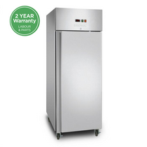 UF0650SDF Bromic - 1x Door Upright Gastronorm Storage Freezer 650L