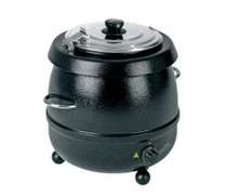 Birko Soup Kettle Black 9L