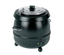 1030601 Birko Soup Kettle Black 9 Ltr