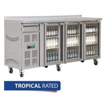 CK491-A Polar U-Series 3 Door Premium Bar fridge 543Ltr