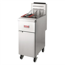 GH111-P Thor Freestanding Single Pan Double Basket LPG Heavy Duty Deep Fryer 25.25Ltr