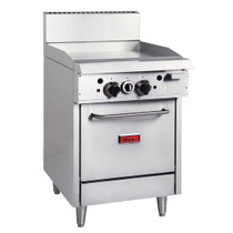 GE542-N Thor Natural Gas Oven Range with Griddle Plate