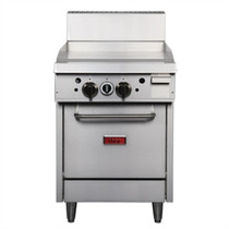 Thor 24in Freestanding Oven Range With Griddle LPG GE542-P