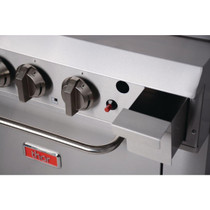 GH102-N Thor 4 Burner Natural Gas Oven with Griddle Plate - Cooking Area: 915mm W x 610 D