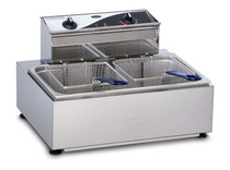Roband single pan/double basket fryer