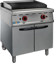 JZH-RH Natural Gas Char Grill On Cabinet 700mm Width