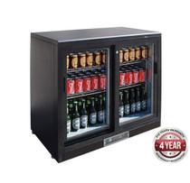 SC248SD 202Ltr Double Sliding Door Drink Cooler 900mm W x 535 D x 900 H
