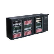 BC3100G Three Door Drink Cooler 536 Ltr 2002mm W x 513 D x 885 H
