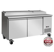 TPB1800 Pizza Prep Bench 508 Ltr 1798mm W x 820 D x 1050 H