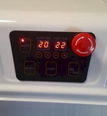 Spiral Mixer Control Panel