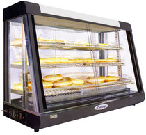 Pie Warmer & Hot Food Display 900mm W x 490 D x 610 H - PW-RT/900/1