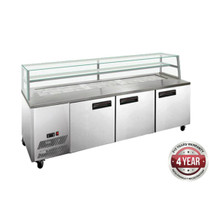 SCB/21 Three Door DELUXE Sandwich Bar 2180mm Width