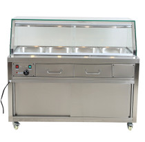 PG150FE-YG Heated Bain Marie Food Display 1460mm W