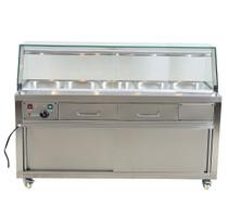Heated Bain Marie Food Display - PG180FE-YG