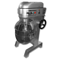 B40KG 40 Litre Gear Drive Three Speed Mixer 530mm W