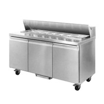 SLB150 Three Door Sandwich Bar 1500mm Width