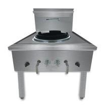 WW-1L Stainless Steel Waterless LPG Gas Single Wok